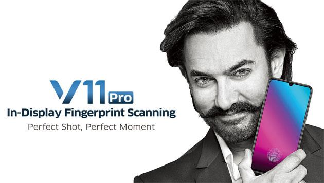 Vivo V11 Pro ufficiale con dual camera, notch e lettore impronte in-display