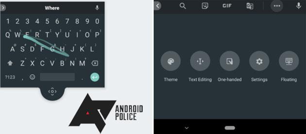 Gboard, Google testa la tastiera fluttuante