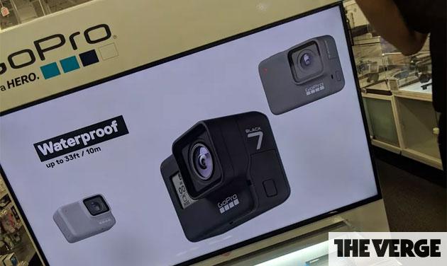 GoPro Hero7 anticipata, annuncio imminente