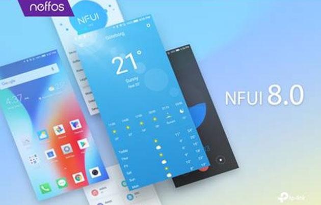 NFUI 8.0 basata su Android Oreo per telefoni Neffos: le novita'