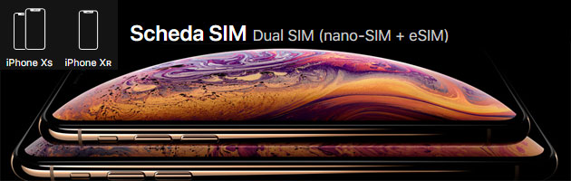 Foto Apple iPhone Xs e Xr supportano Dual SIM con eSIM: come funziona