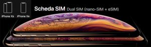 Apple iPhone Xs e Xr supportano Dual SIM con eSIM: come funziona
