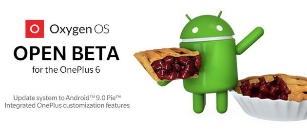 OnePlus 6, terza beta del firmware basato su Android 9 Pie disponibile