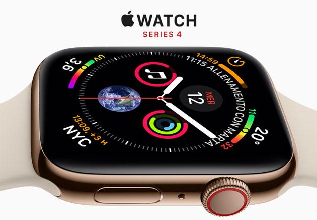 Apple Watch Series 4 ufficiale: Specifiche, Foto, Prezzi. In Italia dal 21 settembre