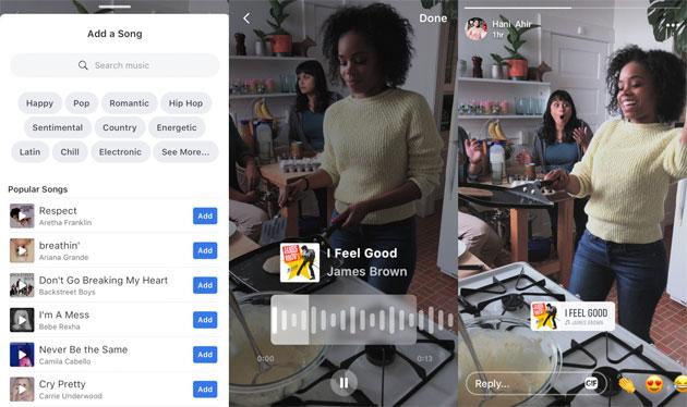 Facebook testa la musica in foto e video con alcuni utenti