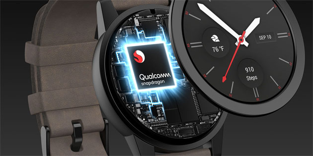Qualcomm Snapdragon Wear 3100, chip per smartwatch sempre piu' potenti, funzionali e intelligenti