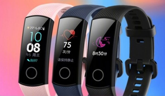 Honor Band 4 ufficiale con display AMOLED a colori