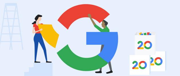 Google compie 20 anni e festeggia con un doodle memoriale guardando al futuro della Ricerca
