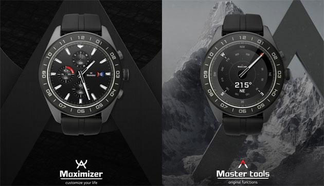 LG Watch W7, orologio ibrido che combina movimento meccanico e funzioni digitali con Wear OS
