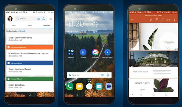 Microsoft porta la Timeline su Android