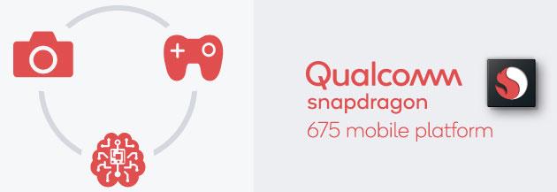 Qualcomm Snapdragon 675, chip di fascia media che migliora Gaming, funzioni AI e Fotocamera