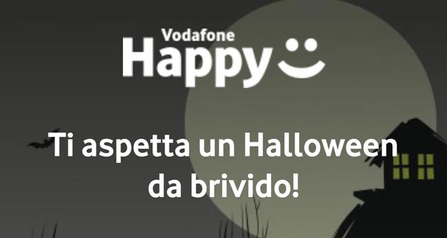 Vodafone Happy Moment Halloween 2018: Giga illimitati dalle 20 alle 8 per una settimana. Come attivare la promo