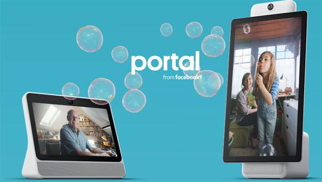Facebook lancia Portal e Portal Plus, altoparlanti intelligenti con display e Alexa