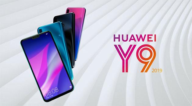 Huawei Y9 2019 ufficiale con quattro fotocamere e notch