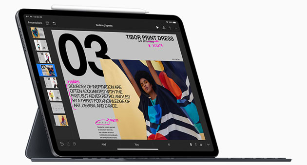 Foto Apple iPad Pro 2018 con Face ID, design a tutto schermo, USB-C e Apple Pencil 2 in Italia da 899 euro