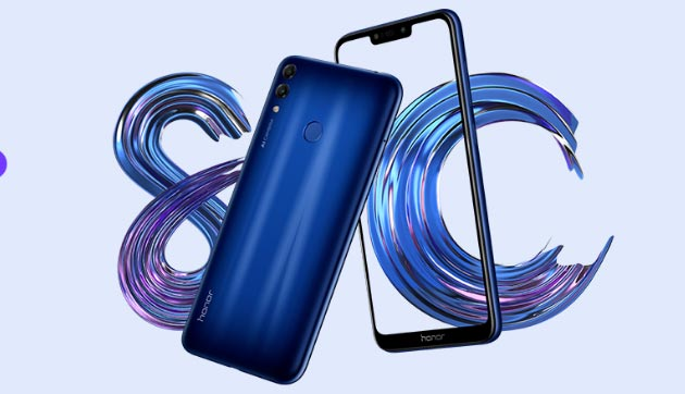 Honor 8C ufficiale: display 6.26 HD, Dual Camera, S632, batteria 4000mAh