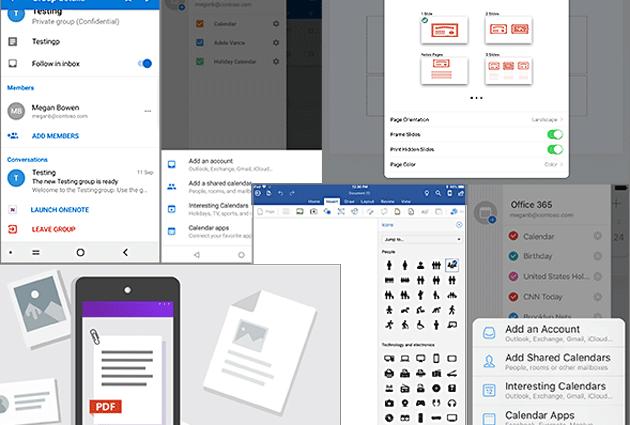 Microsoft Office per Android e iOS, le Novita' da Novembre 2018