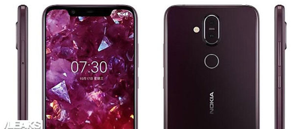 Foto Nokia 7.1 Plus, specifiche e render emersi