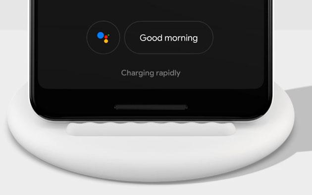 Google Pixel Stand, base di ricarica wireless Qi progettata per Pixel 3 ma universale
