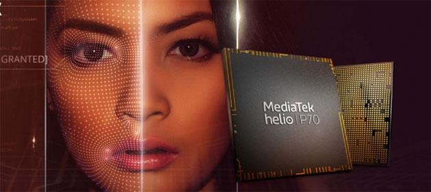 MediaTek Helio P70, chip con efficienza energetica ed elaborazione AI migliori per i telefoni di fascia media