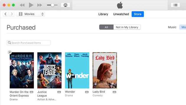 Apple, come nascondere Musica, Film, App, Giochi e Libri acquistati