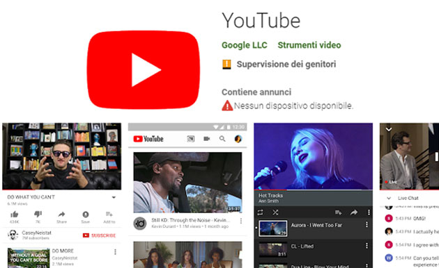 Foto Google lancia il programma beta di YouTube su Android