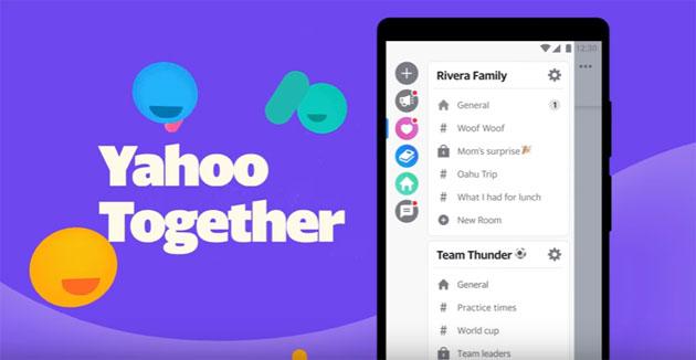 Yahoo Together, app per chat di gruppo in sviluppo