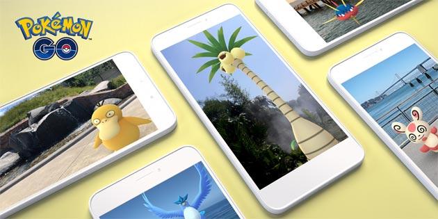 Pokemon Go con AR+ in Realta' Aumentata avanzata su iOS e Android