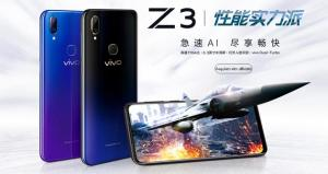 Vivo Z3 ufficiale con dual camera, notch e Snapdragon 670 o 710
