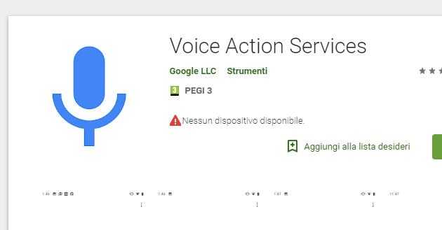 Google Voice Action Services, app per avere un assistente vocale di base