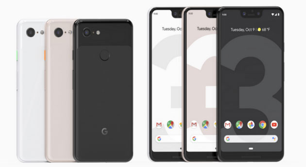 Google Pixel 3 e Pixel 3 XL: specifiche, video foto e prezzi in Italia da 899 euro