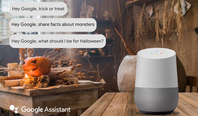 Google rende Halloween 2018 divertente con un gioco nel Doodle e comandi speciali per l'Assistente