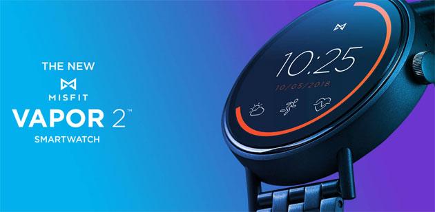 Misfit Vapor 2, smartwatch touch con Wear OS e GPS