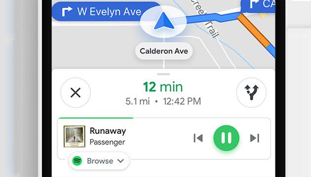 Google Maps, come attivare Spotify, Apple Music, Play Music su Android e iOS