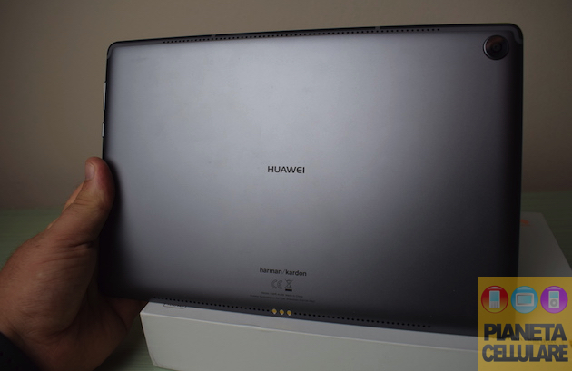 Foto Recensione Huawei Mediapad M5, Tablet con audio al top