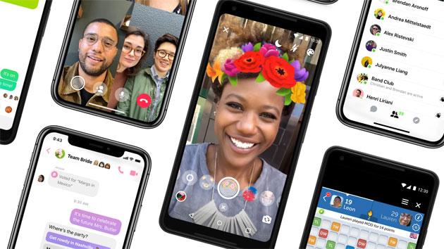 Facebook rilascia Messenger 4 semplificato da navigare, con Sfumature di colore e Dark Mode