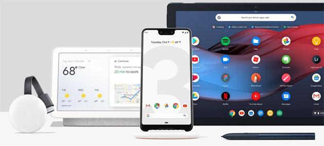 Evento Made by Google 2018: Pixel 3, Home Hub, Pixel Slate, Chromecast 2018 - tutti gli annunci