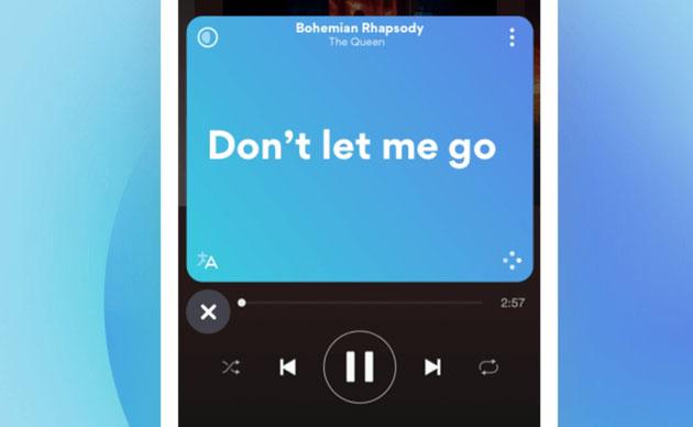 Musixmatch per leggere i testi delle canzoni in riproduzione sincronizzati come un karaoke