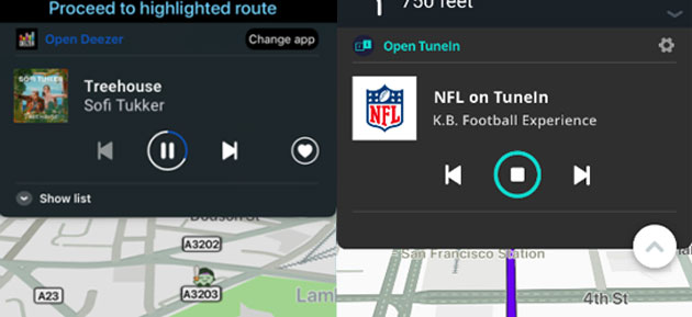 Waze: Apple CarPlay, Audio Player e partnership con Volkswagen