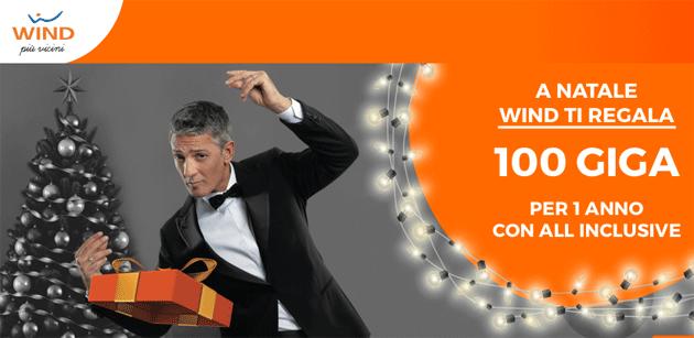 Wind regala 100 Giga per Natale 2018: come averli