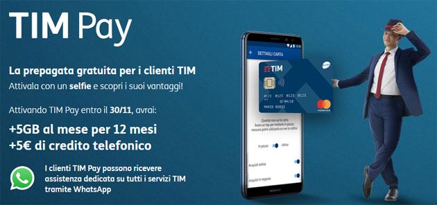 TIM offre assistenza clienti via WhatsApp