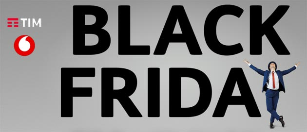 Foto TIM e Vodafone per Black Friday 2018