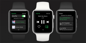 Spotify su Apple Watch, app ufficiale disponibile