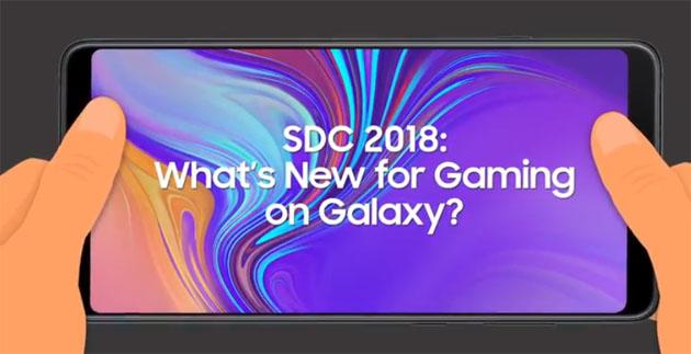 SDC 2018, Samsung ha grandi piani per il Gaming Mobile