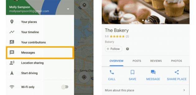 Google Maps attiva la messaggistica diretta con le aziende