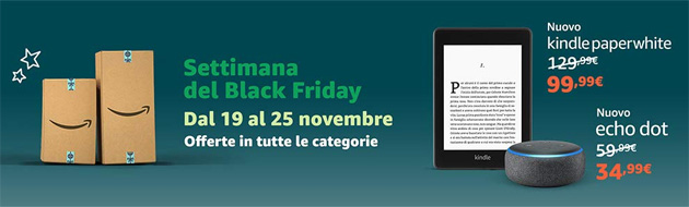 Foto Amazon, Black Friday e Cyber Monday 2018: i risultati