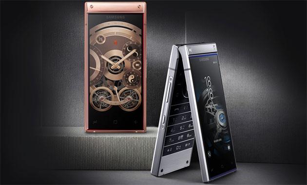 Samsung W2019, telefono a conchiglia con la doppia fotocamera del Galaxy S9 Plus