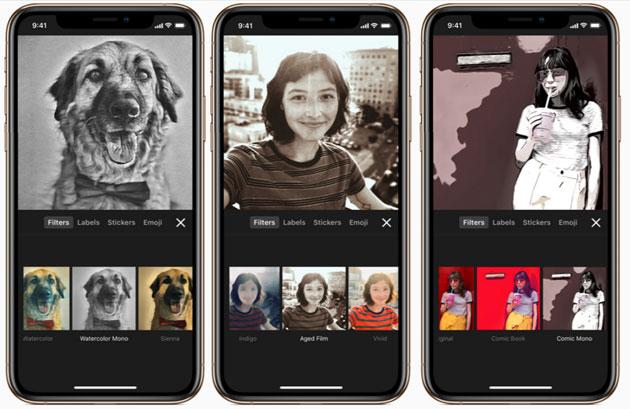 Apple Clips, nuove scene per selfie, adesivi, colonne sonore e altro