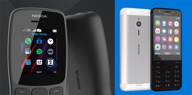 HMD annuncia Nokia 106 e rilancia Nokia 230