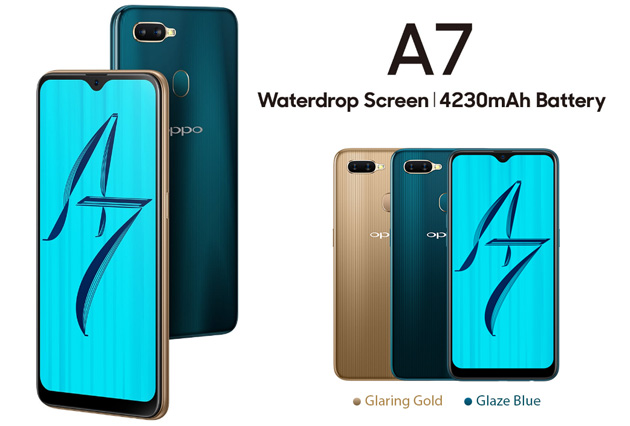 Oppo A7 e A7x con notch, dual camera e IA ufficiali